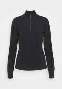 Sweaty Betty - THERMODYNAMIC HALF ZIP REFLECTIVE - Fleece jumper - black - 4