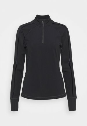 THERMODYNAMIC HALF ZIP REFLECTIVE - Fleecegenser - black