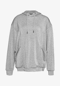 Even&Odd active - Jersey con capucha - dark gray - 4