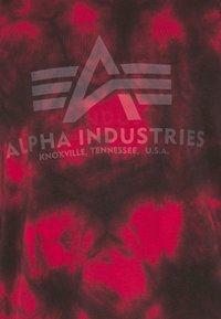 Alpha Industries - BASIC BATIK - Printtipaita - speed red - 6