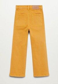 Mango - CULOTTEC - Jeans Straight Leg - moutarde - 1