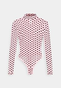 Missguided Petite - SPOT BODYSUIT - Blouse - baby pink - 4