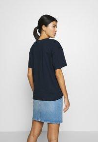 CALANDO - Basic T-shirt - sky captain - 2