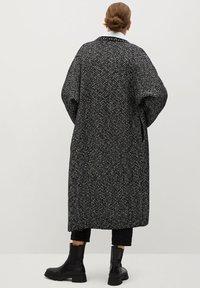 Mango - BONE - Classic coat - schwarz - 2