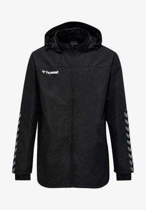 HMLAUTHENTIC - Waterproof jacket - black