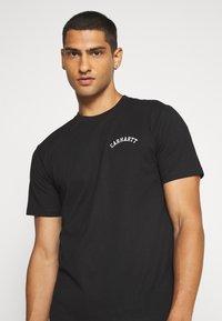 Carhartt WIP - UNIVERSITY SCRIPT  - Basic T-shirt - black/white - 3