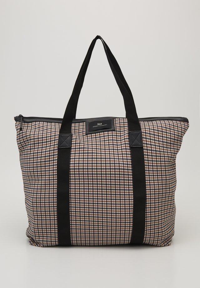 GWENETH SPONGY BAG - Shoppingveske - moonlight beige