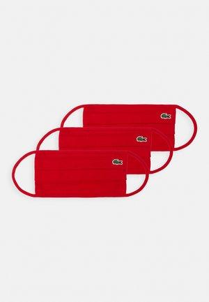 UNISEX 3 PACK - Mascarilla de tela - rouge