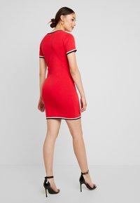 Morgan - Shift dress - rouge - 3