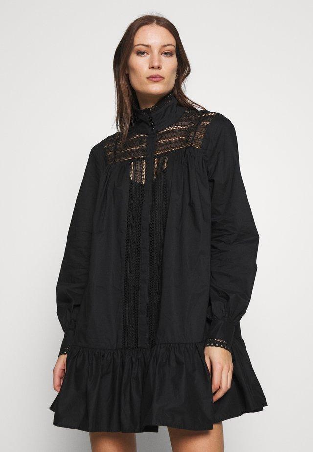 ELORIE DRESS - Day dress - anthracite black