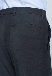 Strellson - MERCER - Suit trousers - anthracite mottled - 4