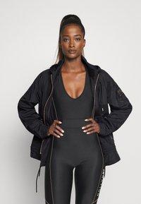 P.E Nation - JACKET - Training jacket - black - 0