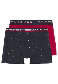 Tommy Hilfiger - TRUNK 2 PACK - Culotte - red/dark blue