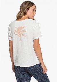 Roxy - STAR SOLAR - Print T-shirt - snow white - 2