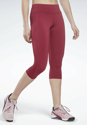 WORKOUT READY CAPRI - Collant - red