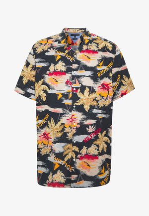 HAWAIIAN PRINT SHIRT - Skjorta - blue