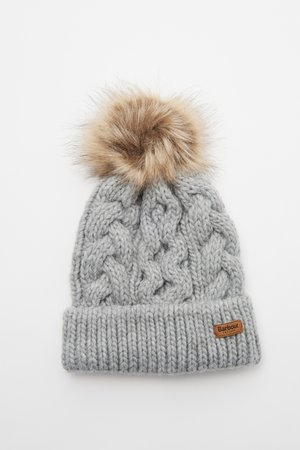 PENSHAW CABLE BEANIE - Muts - grey