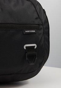 Under Armour - UNDENIABLE DUFFEL 4.0 SM UNISEX - Sports bag - black/silver - 2
