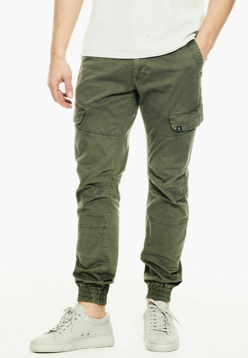 Garcia - Cargo trousers - deep army