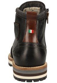 Pantofola d'Oro - Botines con cordones - black - 3