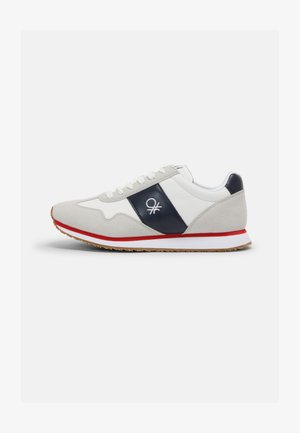 SHELL - Trainers - white/navy