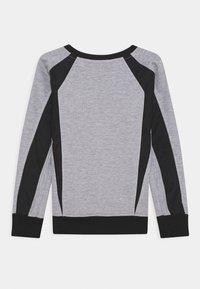 Automobili Lamborghini Kidswear - CREWNECK WITH CONTRAST INSERTS - Sweatshirt - grey antares - 1