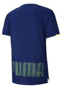 Puma - GRAPHIC  - Print T-shirt - elektro blue - 4
