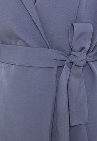 Missguided Tall - BASIC WRAP BLAZER DRESS - Day dress - blue - 2