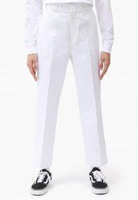 Dickies - 874 CROPPED PANTS - Bukser - white - 0