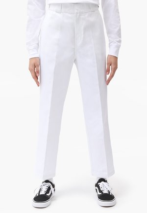 874 CROPPED PANTS - Trousers - white