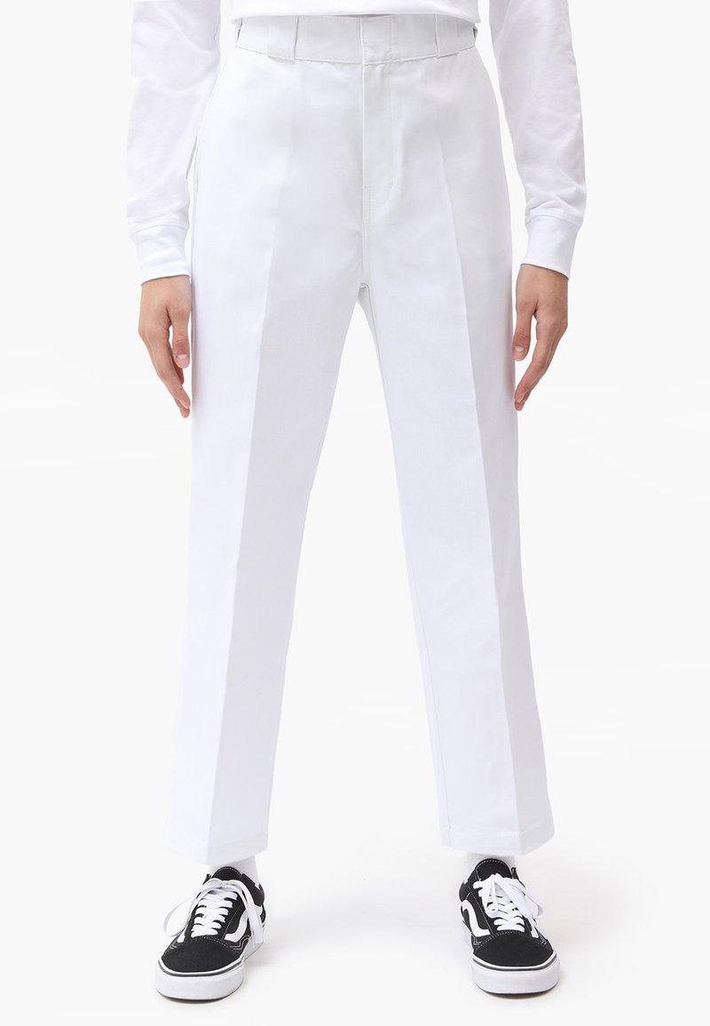 Dickies - 874 CROPPED PANTS - Bukser - white