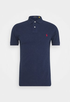 SLIM FIT MODEL - Piké - spring navy heath