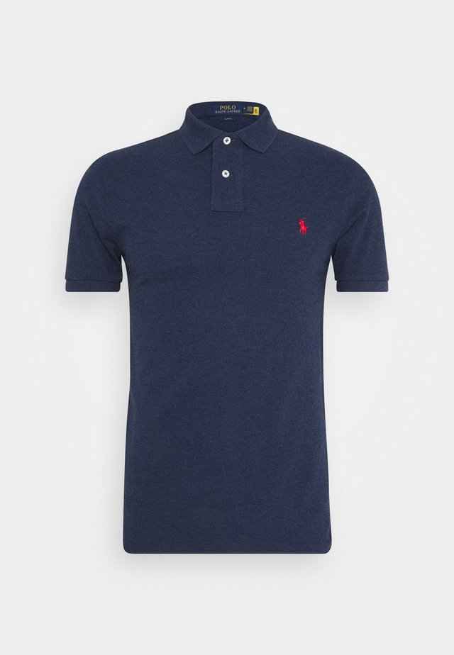 SLIM FIT MODEL - Poloshirt - spring navy heath