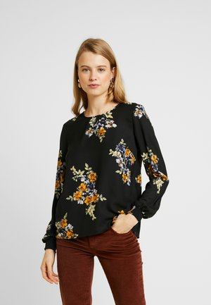 VMALLIE SMOCK - Blouse - black