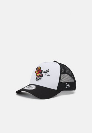CHARACTER SPORTS TRUCKER UNISEX - Cap - white/black