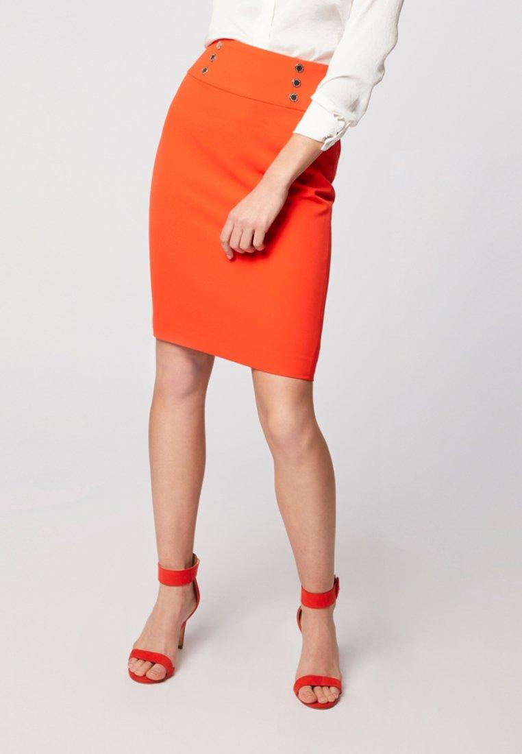 Morgan - Pencil skirt - orange