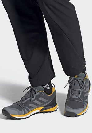 TERREX SKYCHASER LT GTX SHOES - Trail running shoes - grey