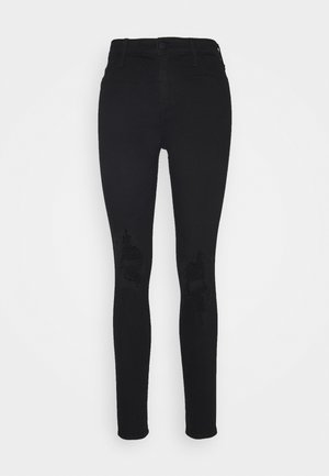 KNEE CROP - Jeans Skinny Fit - black