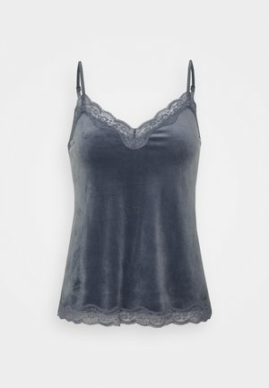 CAMI SCALLOP - Pyjamashirt - folkstone grey