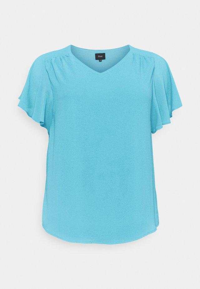 T-shirt basic - river blue