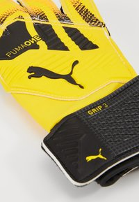 Puma - ONE GRIP - Goalkeeping gloves - ultra yellow/black/white - 3