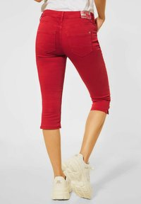 Street One - Denim shorts - rot - 1