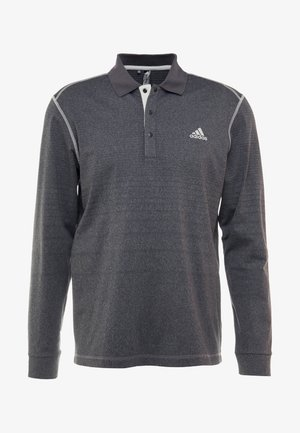 THERMAL - Polo - black heather