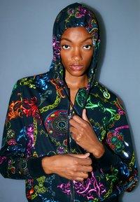 Versace Jeans Couture - Zip-up sweatshirt - black/multi - 3