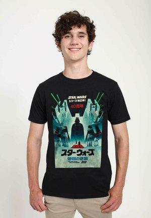 STAR WARS UNISEX ESB JAPANESE POSTER  - T-shirt print - black