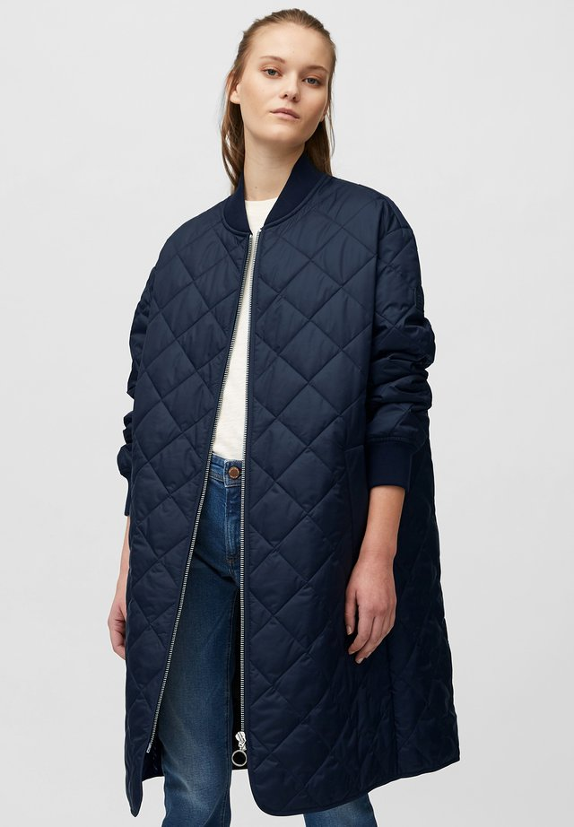 MIT WASSERABWEISENDER OBERFLÄCHE - Winter coat - scandinavian blue