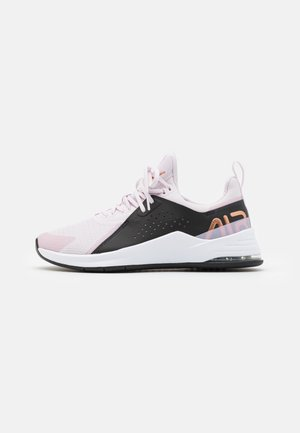 AIR MAX BELLA TR 3 - Obuwie treningowe - light violet/metallic copper/black/light arctic pink/white