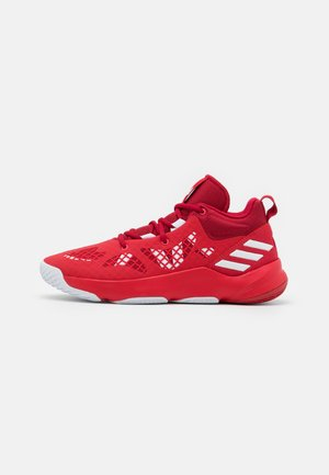 PRO N3XT 2021 BASKETBALL TEAM BOUNCE SHOES MID - Basketball shoes - red