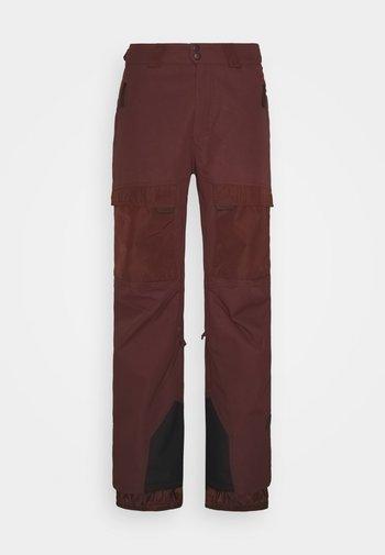 PM UTLTY - Snow pants - bitter chocolate