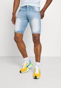 Good For Nothing - NON PAINT SHORT - Denim shorts - blue - 0